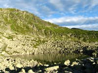 Sitting at 2140m - Mândra lake is the highest of all tarns in Parâng Mountains