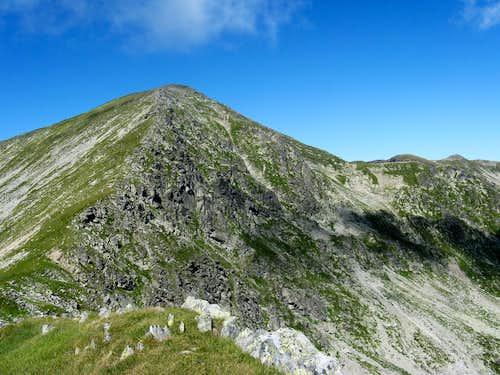Parângul Mare peak (2519m)