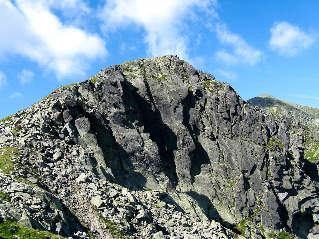 Gruiu peak (2345m)