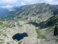 Mândra and Roşiile tarns