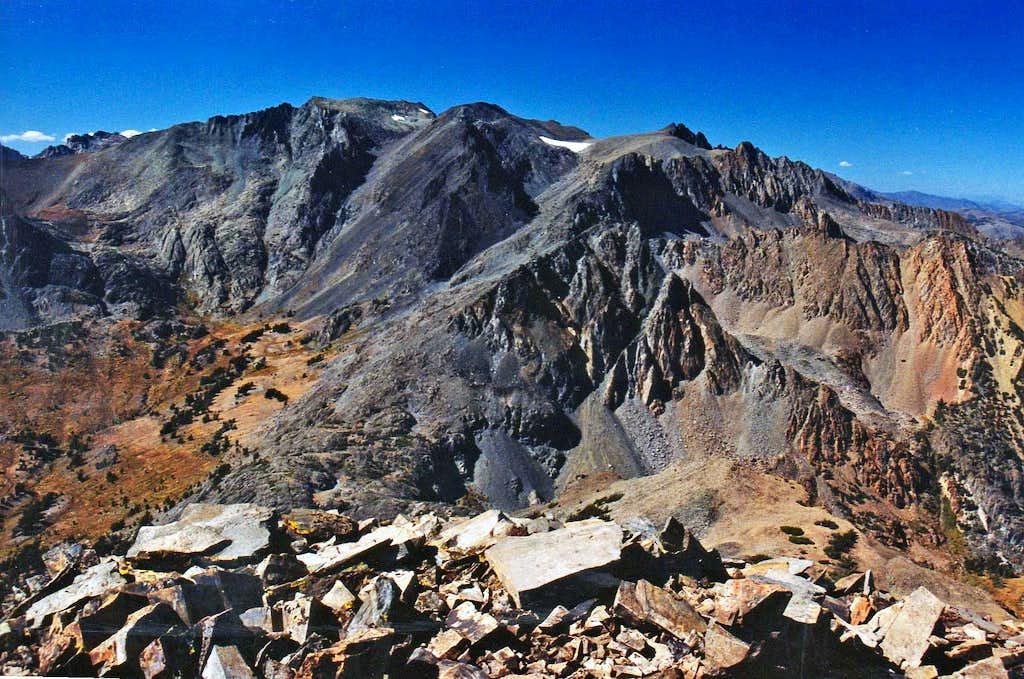 Twin Peaks from Camiaca Peak
