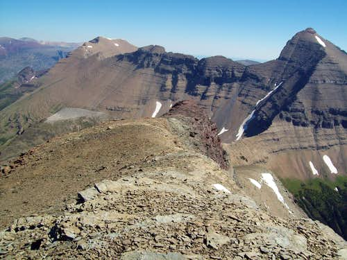 Siyeh from Piegan\'s summit