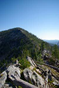 Ridge route up Pyramid