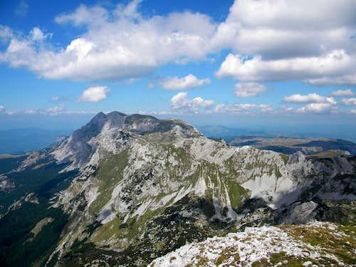 MAGLIĆ,TRNOVAČKO JEZERO  and summits around
