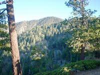 North face of Throop Peak...