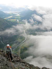 Romsdalshorn north face