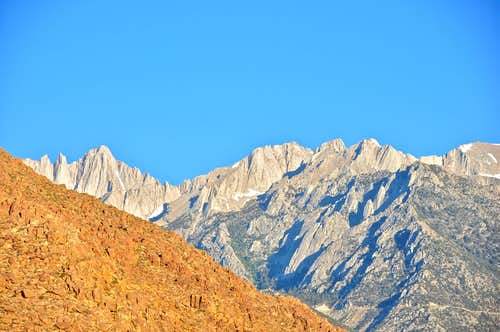 Mount Whitney seen from...