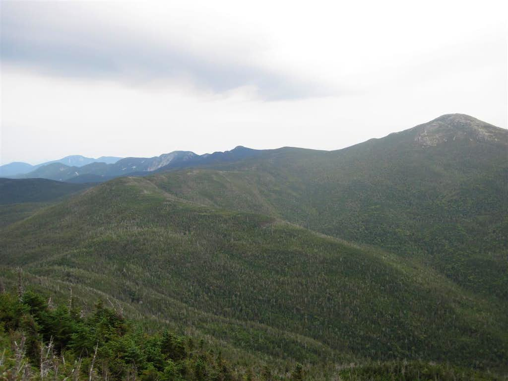 View from the top of Colden
