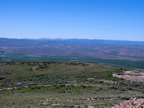 West from Rex Peak
