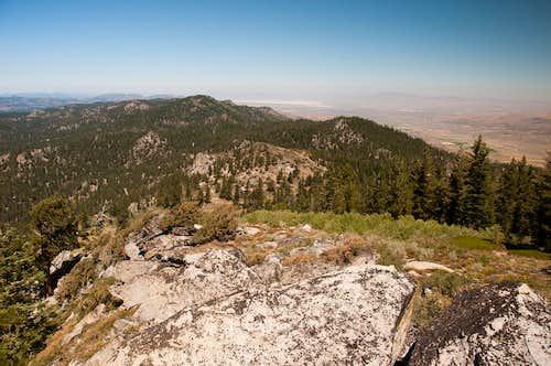 Crystal Peak from Adams Peak