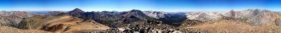 Camiaca Peak Summit Panorama