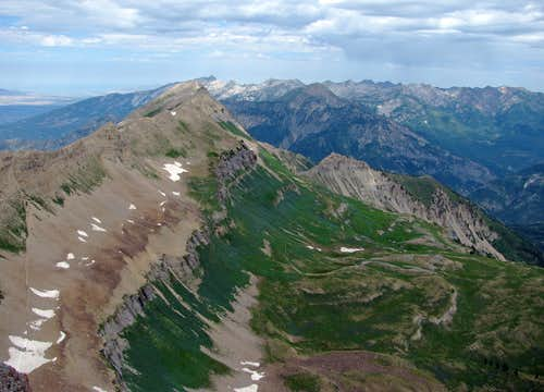 View north from Timp