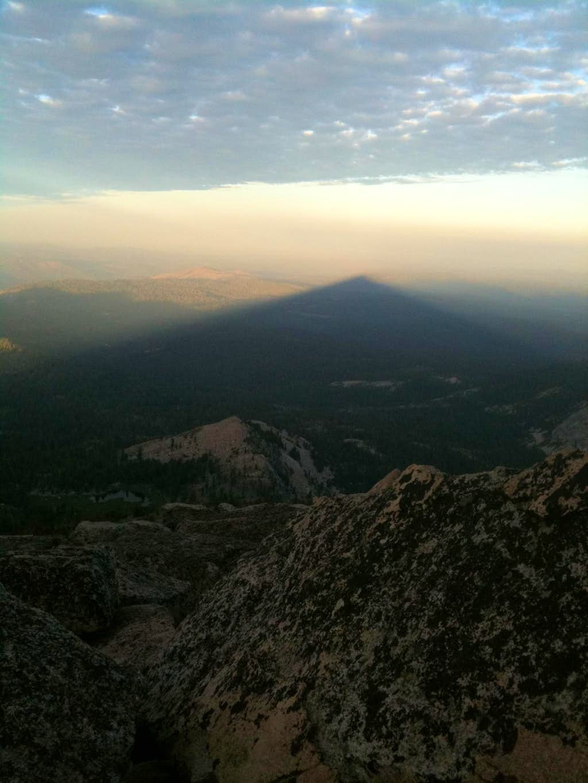 Pyramid Peak Shadow