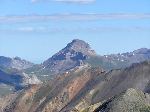 8 Aug 2004 - Uncompahgre from...