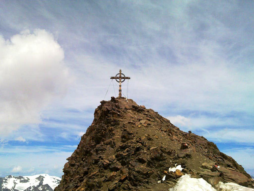 The summit of the Kreuzspitze