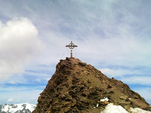 The summit of the Kreuzspitze