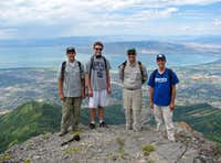 Timp hike group photo 2