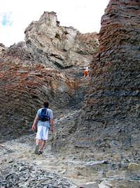 Timp cliff trail