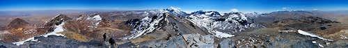 Chacaltaya Summit Panorama