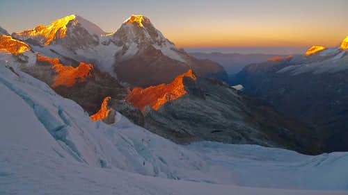 Huascaran Sunrise
