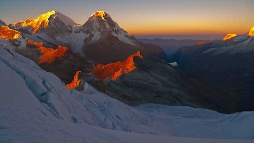 Huascaran Sunrise