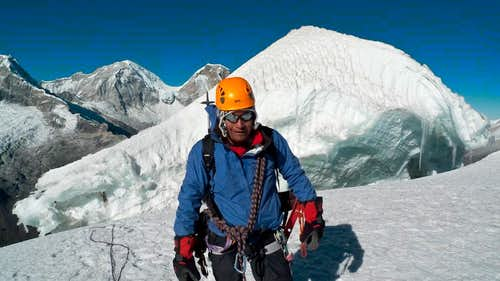 Eloy with Yanapaccha Summit