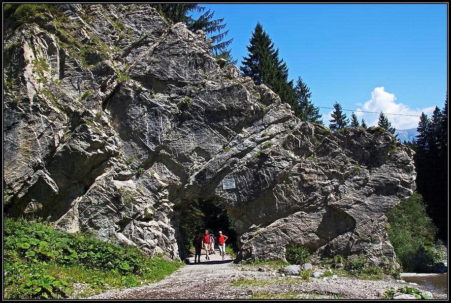Mauthner Klamm entry