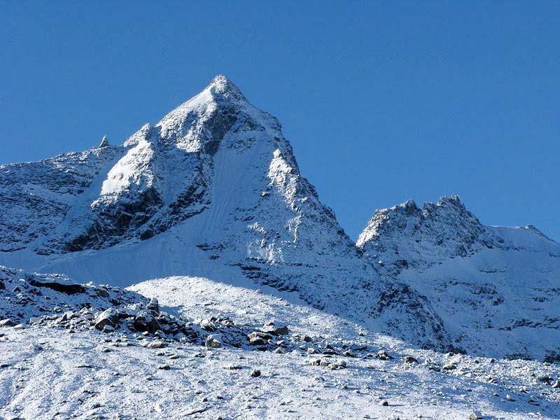 Becca di Monciair (3.554 mtrs)