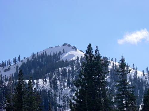 North side of Silver Peak as...