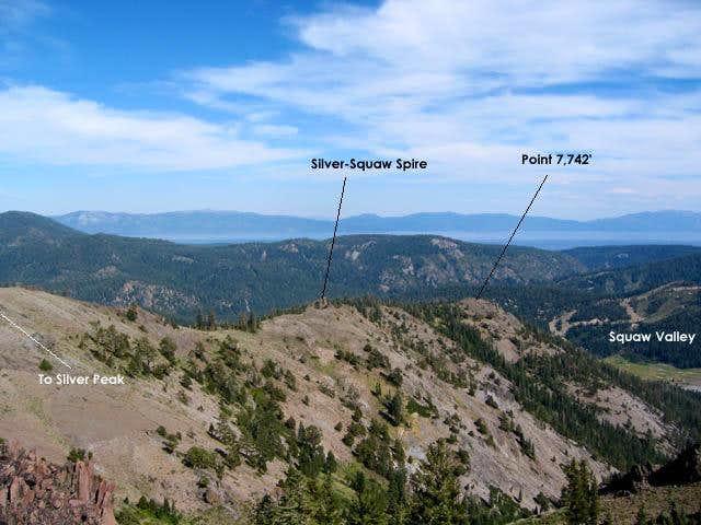 South Ridge of Silver Peak,...