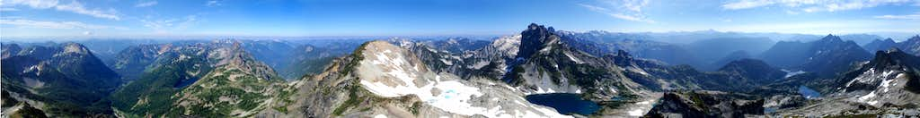 Chikamin Peak 360° View