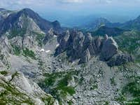 The giant teeth of Durmitor
