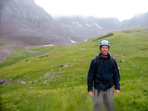 Len Shoemaker Basin: Nasty Weather Nasty Rock