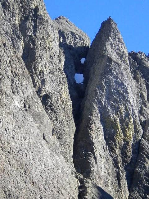 Desperation, West Face
