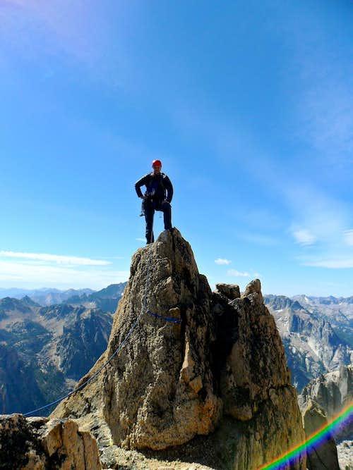 Mount Heyburn Summit Shot