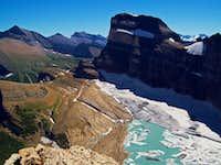 Mount Gould above Grinnell Glacier