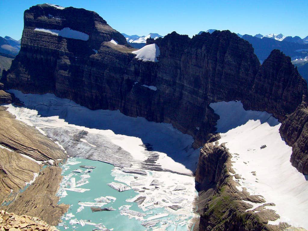 Salamander, Gem and Grinnell Glaciers