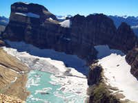 Salamander, Gem and Grinnell Glaciers