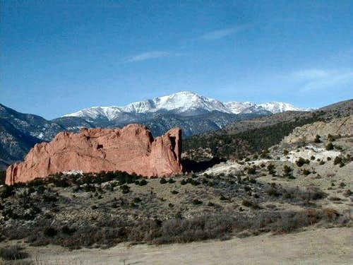 View of Pikes Peak from the...