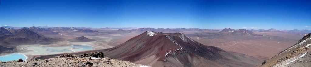 Panorama from Licancabur