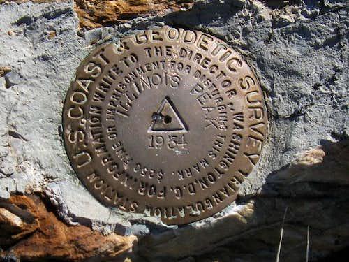 Illinois Peak BM (ID)