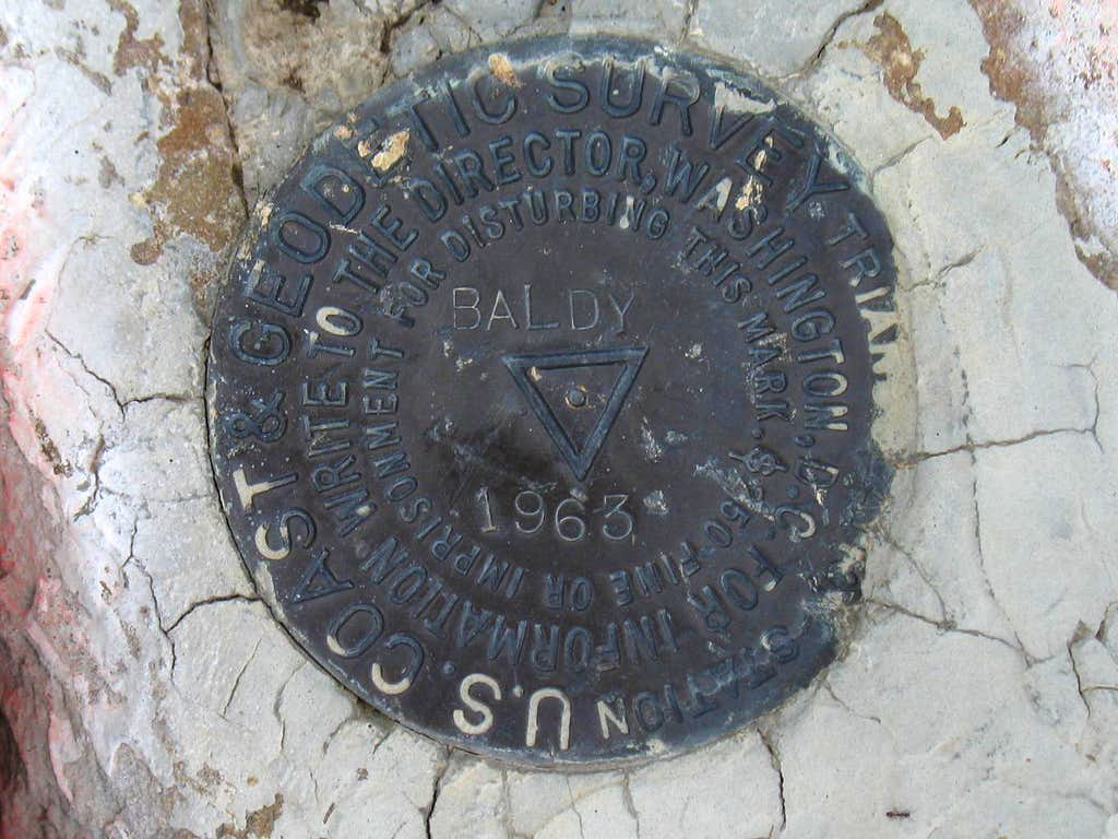Sedgwick Mountain BM (ID)
