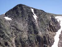 North Face of Hallett Peak