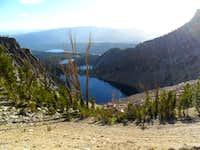 Mount Heyburn - Bench lakes