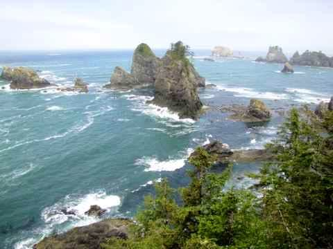 Point of Arches, Olympic Coast