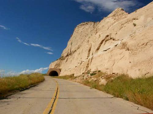 Scotts Bluff Tunnel