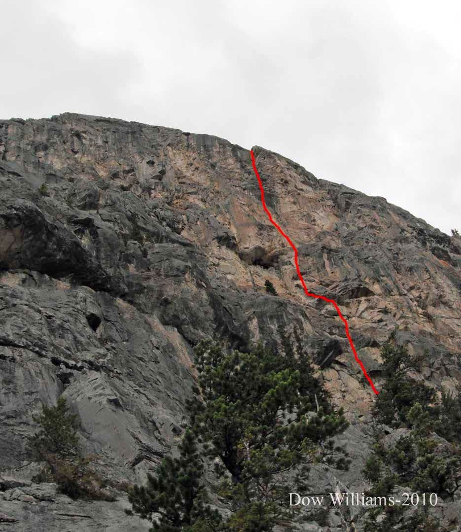 Oedipus Complex, 5.10c, 4 Pitches