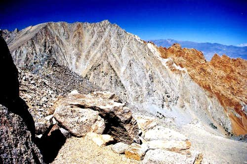Mt. Emerson and Piute Crags from Mount George Davis 12,691'
