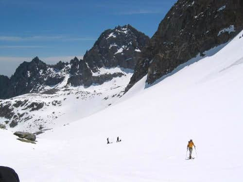Ski touring on the T-bolt...