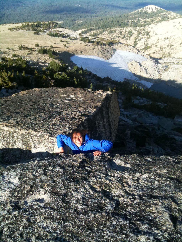 Mt Agassiz summit block